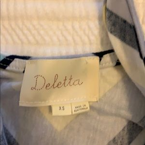 Deletta Tops - Xs top from Anthropologie. Brand is Deletta